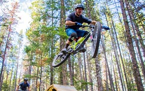 Plaid Goat Mountain Bike Fest is a three-day festival with a buffet of 'for fun' activities